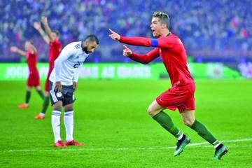Cristiano emerge sobre el filo y da el triunfo a Portugal