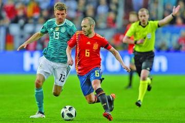 Alemania y España firman tablas en atractivo duelo