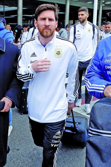Messi no entrena en Madrid