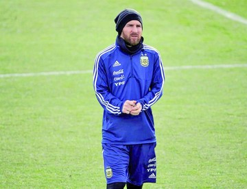 Messi vuelve al trabajo