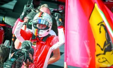 Vettel toma la delantera