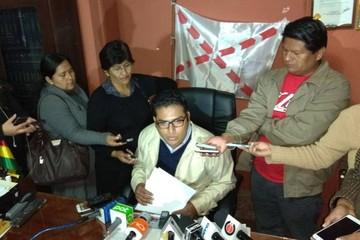 Incahuasi: Callejas no asistirá a reunión de Codeinca y pide que dejen trabajar a Gobernación