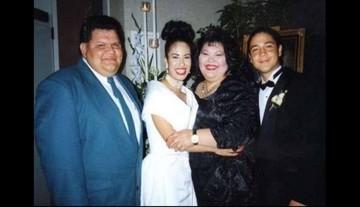 Circulan fotos inéditas de la boda de Selena Quintanilla y Chris Pérez