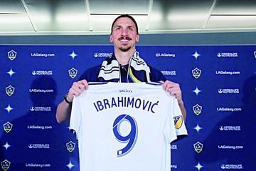 Ibrahimovic listo para conquistar el fútbol de la MLS