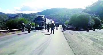 El transporte radicaliza medidas contra Fancesa