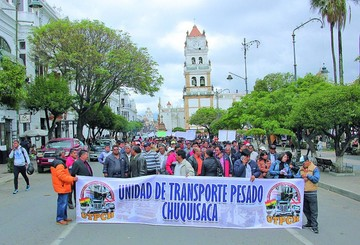 "Fancesa y transportistas deciden ""congelar"" flete"