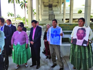 EEUU: Declaran a Goni y  Sánchez Berzaín culpables