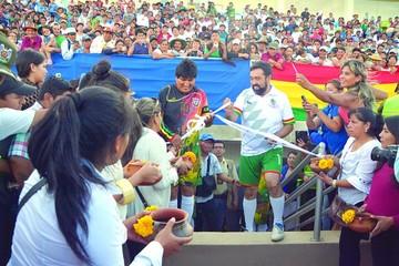 Morales promulga leyes para explorar en Tarija