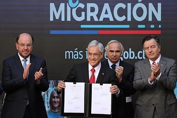 Tensión con Chile por migrantes