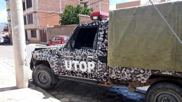 Camioneta de la UTOP choca y no dan informe