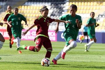 Bolivia sufre otra caída en Copa de fútbol femenino