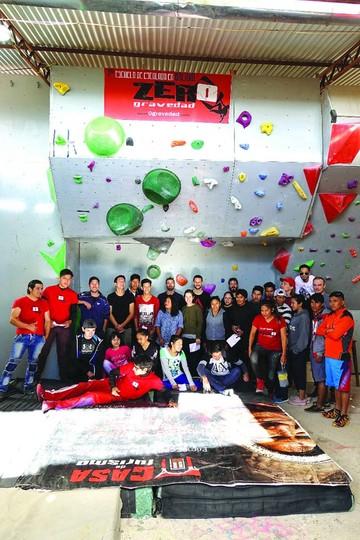 ¿Quiere aprender a escalar en Sucre?