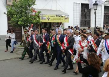 Tarija celebra 201 aniversario de la batalla de La Tablada