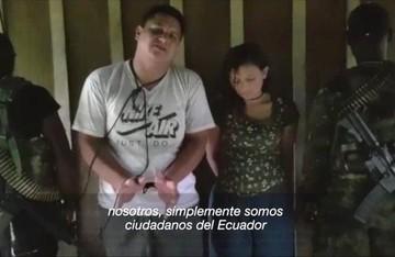 Ecuador: Identifican a pareja secuestrada y confirman que es ecuatoriana