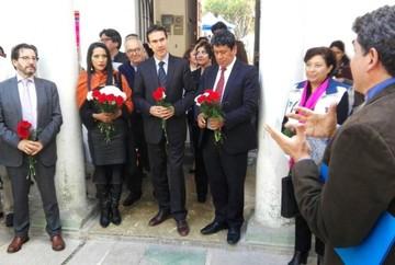 Ministerio de Culturas entrega distinción a Escuelas Taller de Bolivia