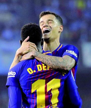 Barça sobrevive ante el Celta