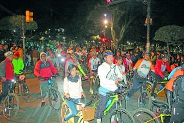 Sucrenses promueven el uso de la bicicleta