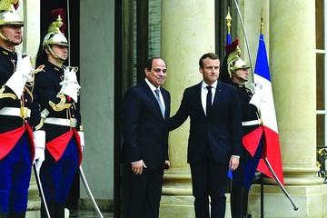 Francia y Egipto reafirman lucha contra el terrorismo