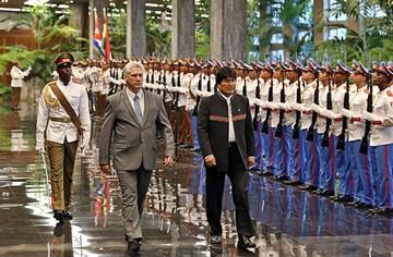 Bolivia y Cuba  reafirman alianza
