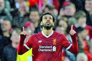 Liverpool y Salah se exhiben