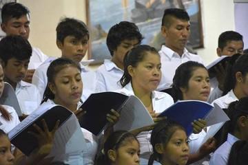 "Total E&P Bolivie presentó la ""Missa Santa Ana"" en Camiri y Santa Rosa"