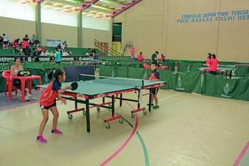 Nacional de tenis de mesa apunta a los más pequeños