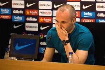 Andrés Iniesta dejará el Barcelona a final de temporada