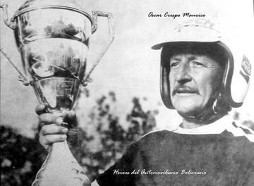Oscar Crespo Maurice ganó un Gran Premio y cuatro campeonatos nacionales