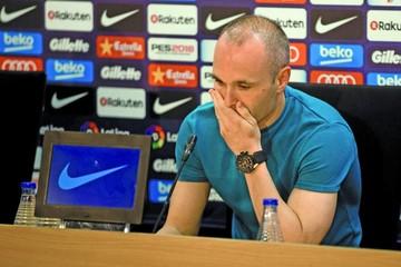 Iniesta dejará el Barcelona