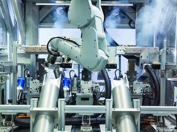 El nuevo robot 'Daisy' destruye 200 iPhone por hora