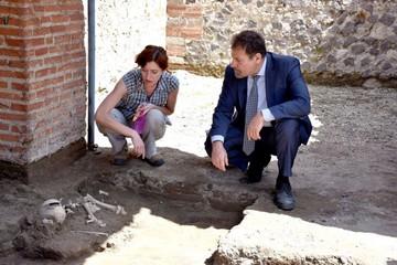 Pompeya: Emergen restos de la catástrofe