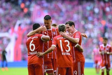 Bayern golea con suplentes antes de visitar al Real