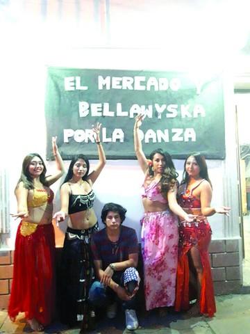 El Mercado y Bellywiska muestran danzas