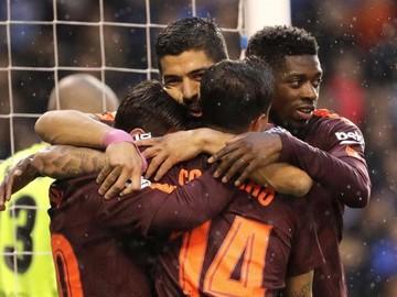 Barcelona, el campeón de la Liga española