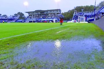 La lluvia postergó el partido de Boca Juniors en Argentina