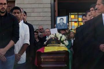 Cientos dieron el último adiós a García Meza