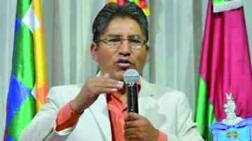 Patzi afirma que Bolivia se acerca a una dictadura