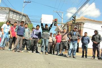 Chuquisaca: Sectores radicalizan medidas con más bloqueos y marchas este jueves
