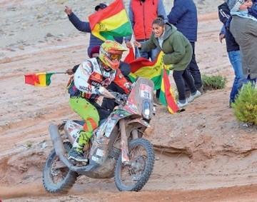 Dakar: Bolivia espera respuesta de la organización