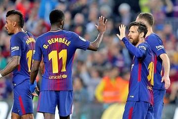 Barça conserva su invicto y Real cae ante el Sevilla