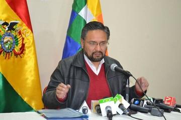 Para el ministro Rada, las movilizaciones de Chuquisaca están en declive