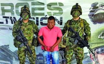 Capturan a un líder de  disidentes de las FARC