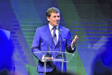 Domínguez fue  reelegido titular de la Conmebol