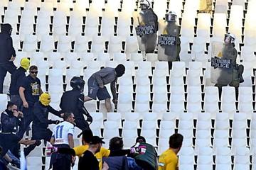 Grecia, en la mira de la UEFA