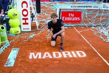 Zverev, el primer alemán en conquistar Madrid