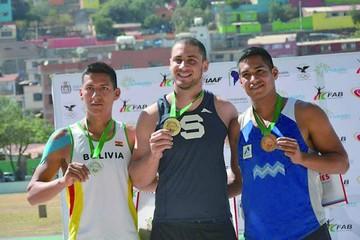 Melbin Soto toma impulso para los Juegos Odesur