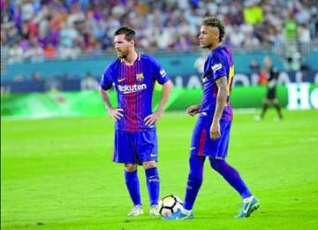 Messi advierte a Neymar
