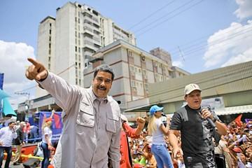 Maduro pide respaldo en elección del domingo