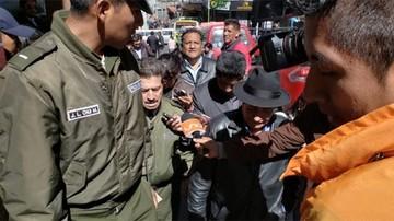 Diputado Rafael Quispe es aprehendido por la Policía