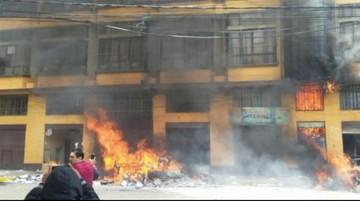 Condenan con cinco años de cárcel a dirigentes por quema de la Alcaldía alteña